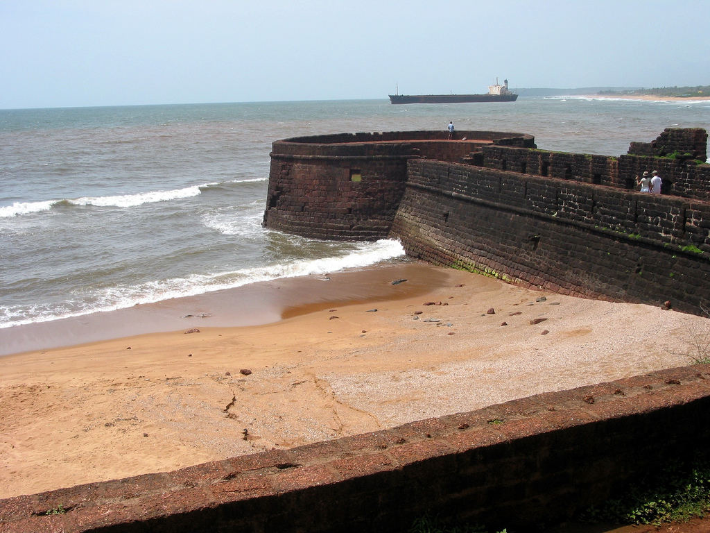 Aguada Fort is the best places to visit in Goa