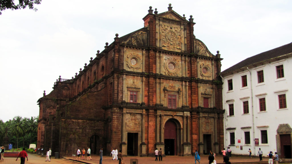 Basilica of Bom Jesus is the best places to visit in Goa