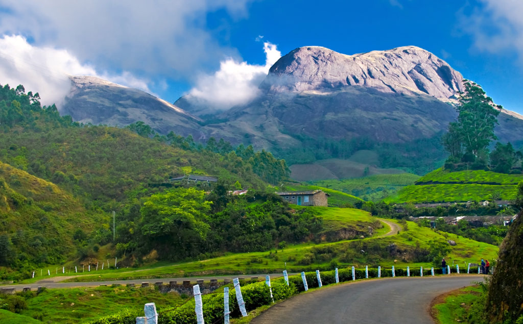 Munnar, Kerala is the Top 10 Hill Stations In India