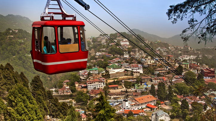 Mussoorie is one of the best Hill Stations Near Chandigarh