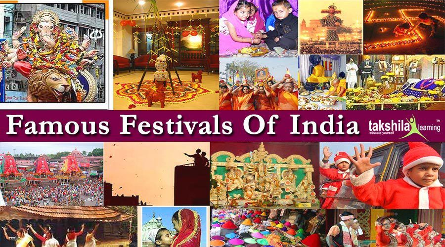 15 Famous Festivals Of India
