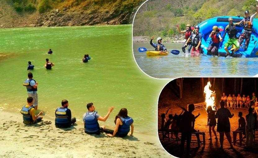 Shivpuri: Camping By The River