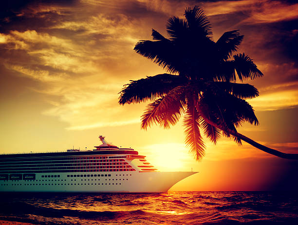 A Sunset Evening On Cruise
