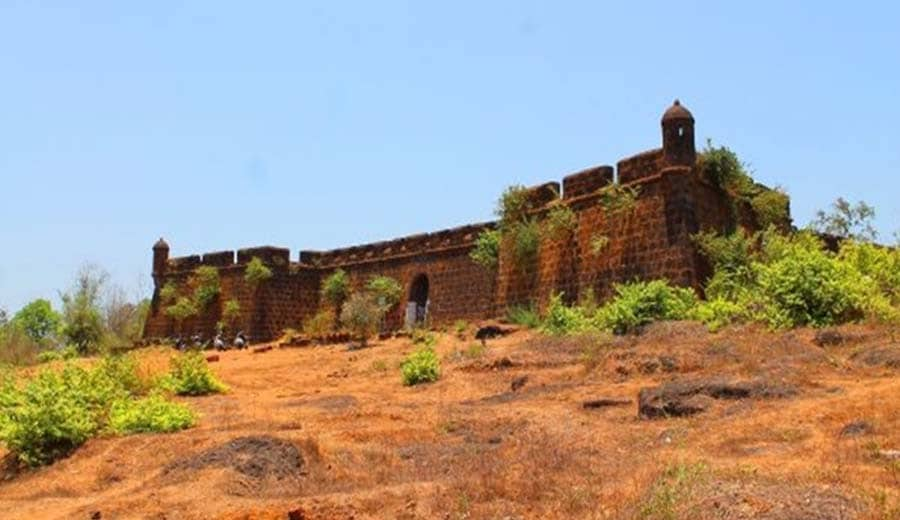 Corjuem Fort: Offers Excellent Panoramic Views