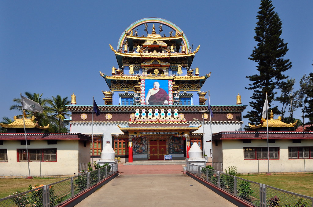 Namdroling Nyingmapa Monastery Or Golden Temple