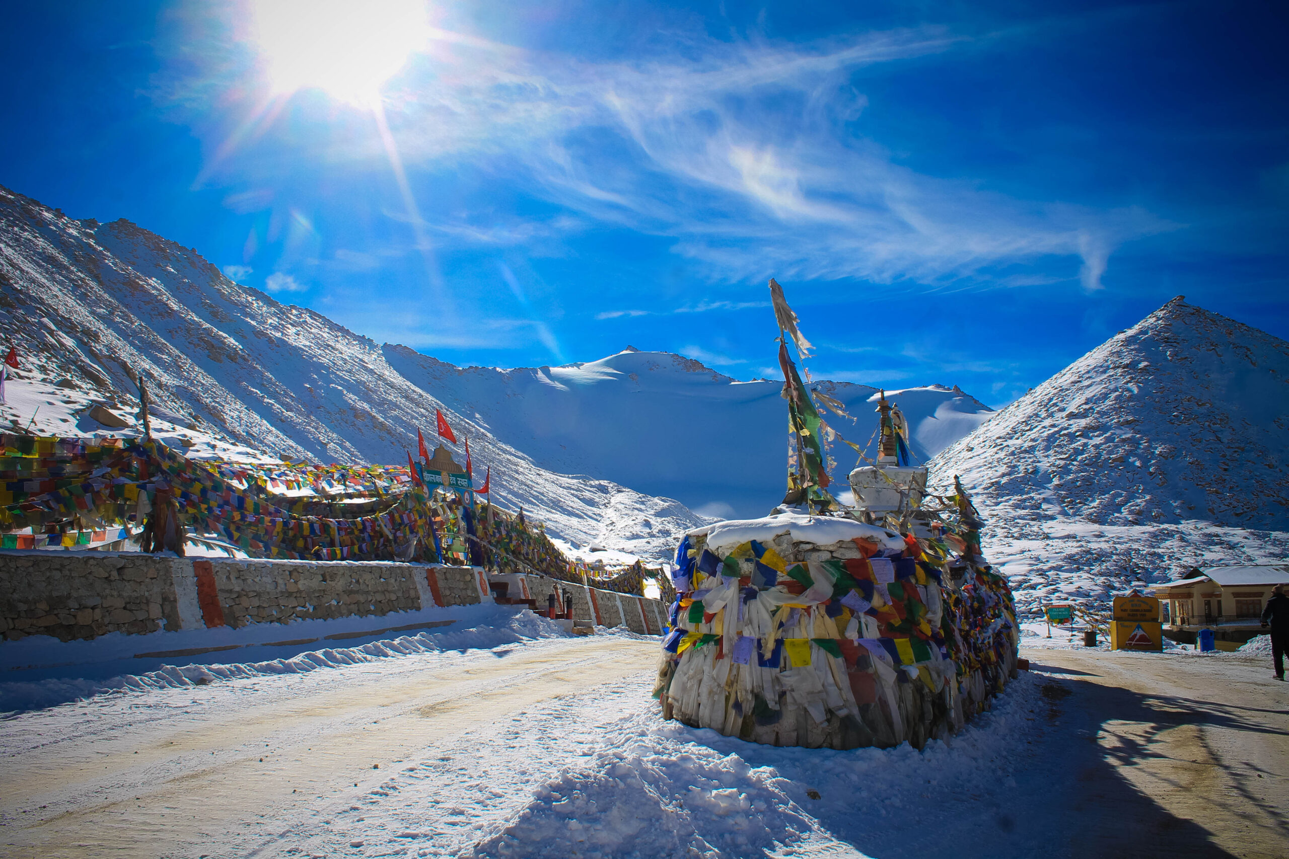 BRO builds world's highest motorable road in Ladakh at 19,300 feet