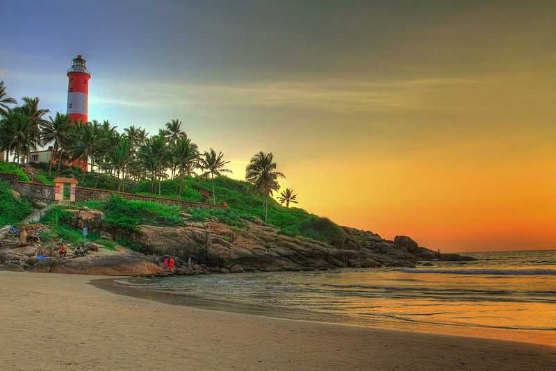 Kovalam In Kerala -  A remarkable involvement with God's own country