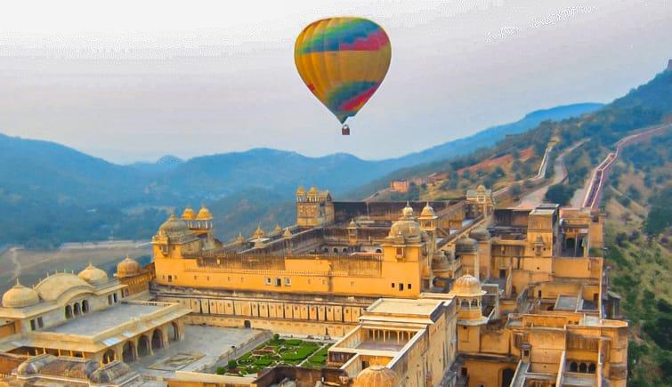 9. Balloon Safari Rajasthan