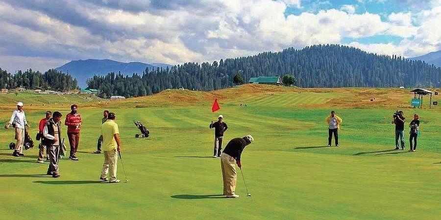 2. Gulmarg Golf Course