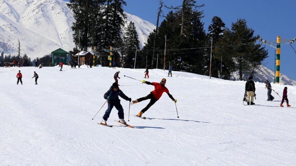 3. Skiing in Gulmarg